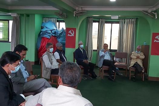 माओवादी केन्द्रको स्थायी कमिटी बैठक जारी