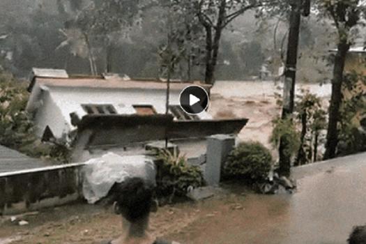 भारतको केरलामा भीषण वर्षा र बाढी, २७ जनाको मृत्यु
