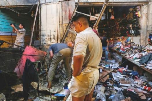 इराक आक्रमण: बम विस्फोटनमा कैयौँको मृत्यु