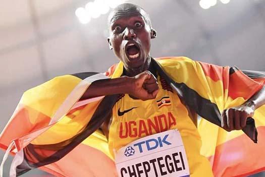 युगान्डाका धावक जोसुवाले बनाए विश्व कीर्तिमान