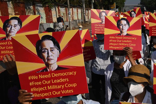 म्यानमारकी नेतृ सुकीको नजरबन्द समय दुई दिन थपियो