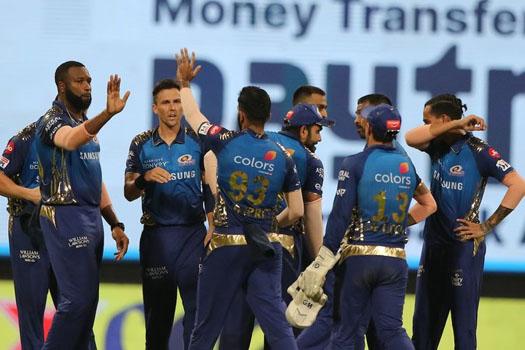 आईपीएल : युएईमा मुम्बईको पहिलो जित, कोलकाता ४९ रनले पराजित