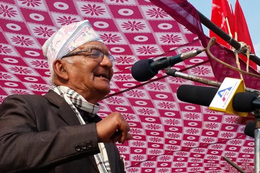 चित्रबहादुर केसीको आरोप: राज्यको ढुकुटी रित्याउने गरी ओलीको शक्ति प्रदर्शन