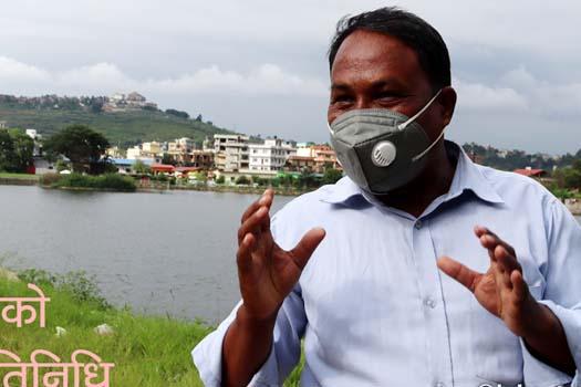 काठमाडौंका एक अपवाद वडाध्यक्ष, फेर्दैछन् चोभारको मुहार