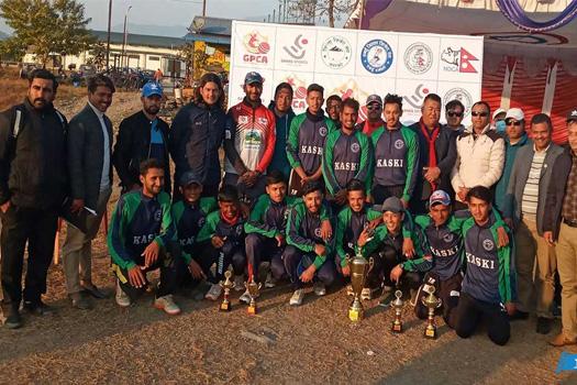 गण्डकी प्रदेशस्तरीय क्रिकेट छनोट प्रतियोगिता : कास्की प्रदेश च्याम्पियन