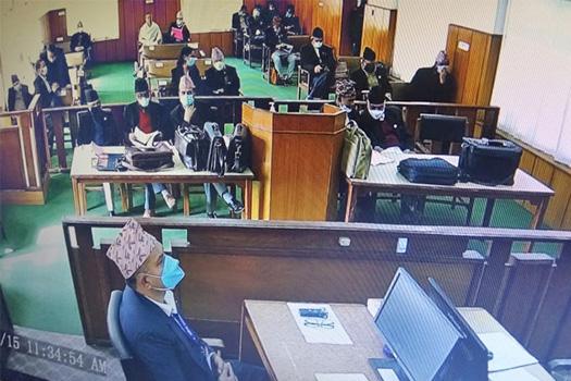 संसद विघटनबारे संविधानसभामा भएको सहमतिको अभिलेख झिकाउन माग