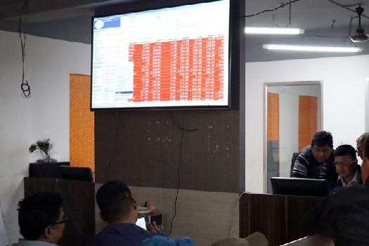 नेप्सेमा २३.७६ अंकको सुधार, कारोबार रकम भने अझैं बढ्न सकेन