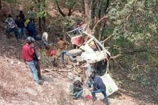 प्युठान दुर्घटना अपडेट : मृतकको संख्या ५ पुग्यो, ११ घाइते