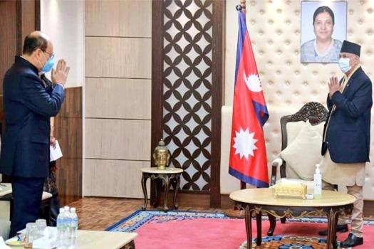 प्रधानमन्त्री ओलीको मोदीलाई सन्देश- 'सीमा समस्या वार्ताबाट समाधान गरौँ'