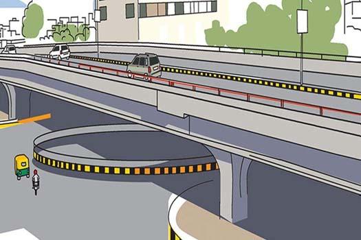 भद्रगोल विकास योजना : मेट्रो रोक्ने गरी फ्लाइओभर !
