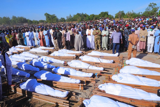 नाइजेरियाको नियती : ११० निर्दाेष किसानको बर्बर हत्या